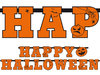 "Girlande ""Happy Halloween"""